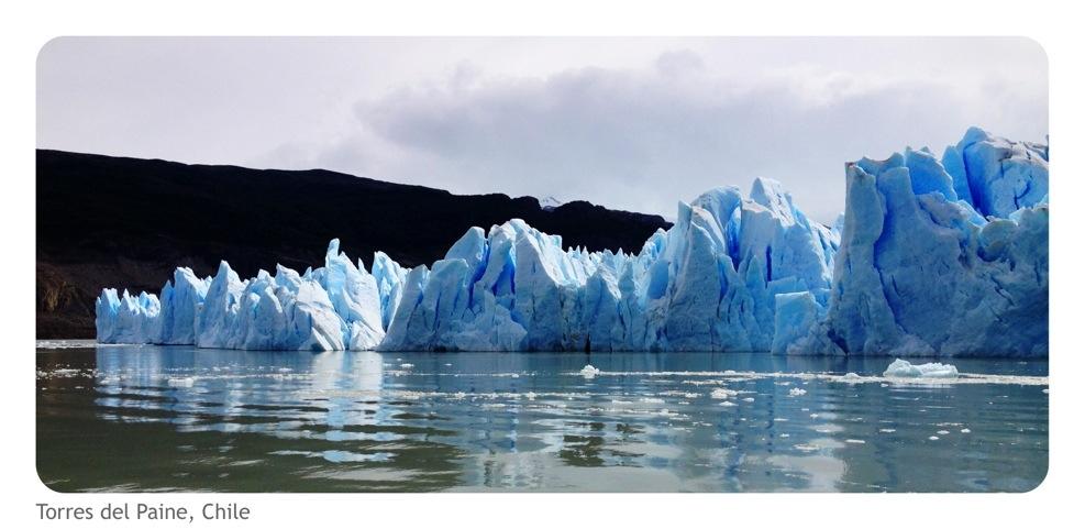 Torres del paine - Lago Grey Gletsjer